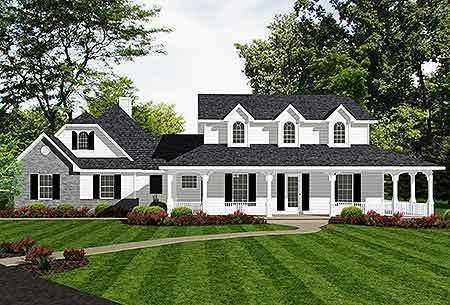 25 Gorgeous Farmhouse Plans for Your Dream Homestead House on elegant farmhouse plans, traditional farmhouse plans, modern farmhouse plans,