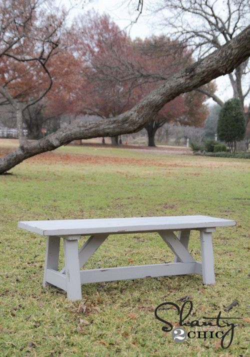 Miraculous 28 Diy Garden Bench Plans You Can Build To Enjoy Your Yard Gmtry Best Dining Table And Chair Ideas Images Gmtryco