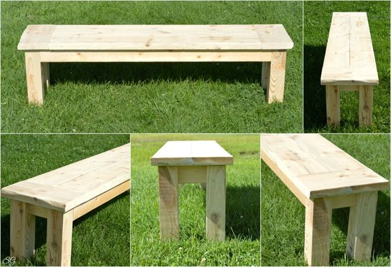 Sensational 28 Diy Garden Bench Plans You Can Build To Enjoy Your Yard Creativecarmelina Interior Chair Design Creativecarmelinacom
