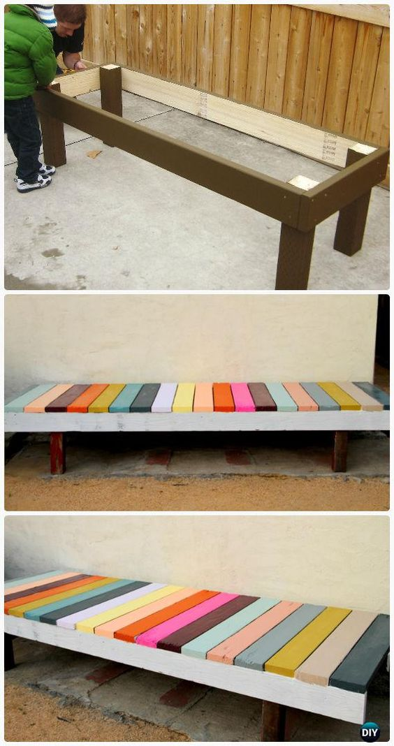28 Diy Garden Bench Plans You Can Build To Enjoy Your Yard
