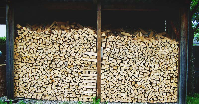 Easy To Build Diy Firewood Shed Plans