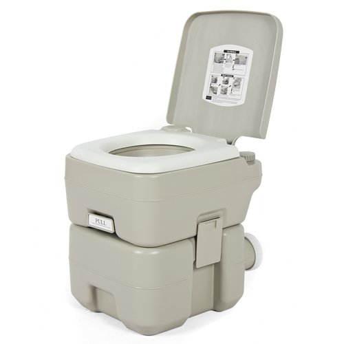 Best Choice Products 5-Gallons Portable Toilet