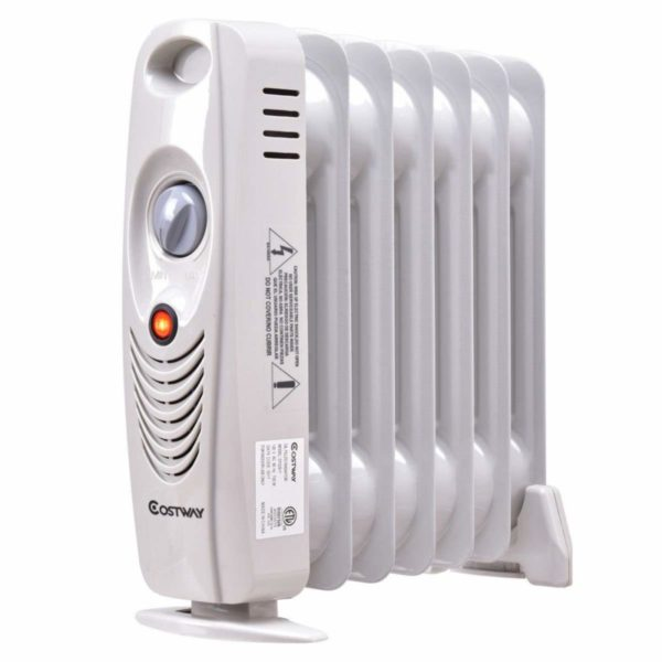 Costway Oil Filled 700 watts Radiator Space Heater