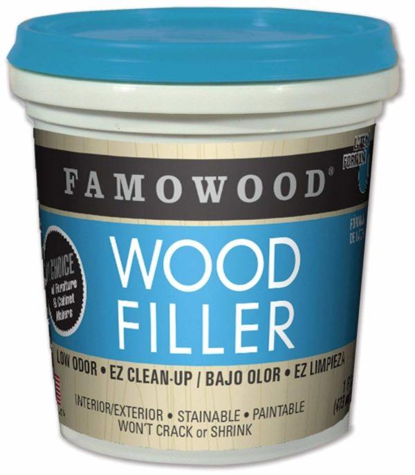 FamoWood 40022126 Latex Wood Filler