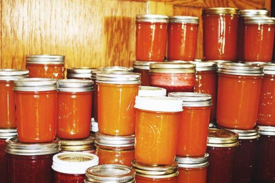 How to Store Fresh and Canned Food for the Winter