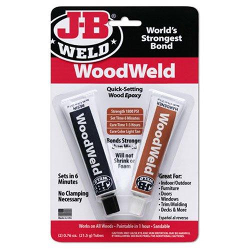J-B Weld 8251 1.52-ounce WoodWeld Wood Epoxy Adhesive