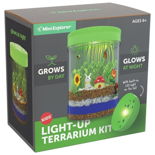 Mini Explorer Light-up Terrarium Kit for Kids