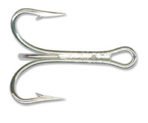 Mustad Classic 2 Treble Fishing Hooks Pack of 25
