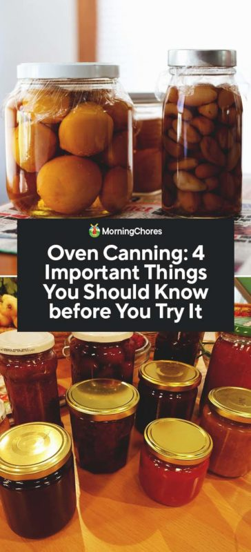 Oven Canning 4 Important Things You Should Know Before You Try It