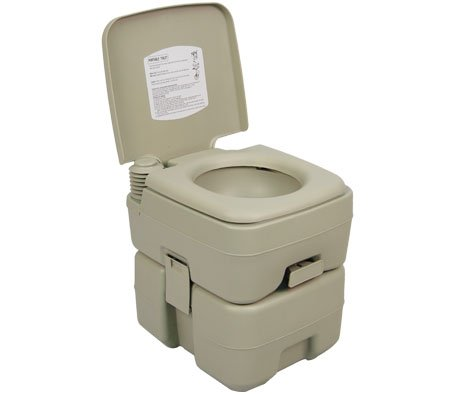 Palm Springs Outdoor 5-Gal Portable Outdoor Camping Recreation Toilet