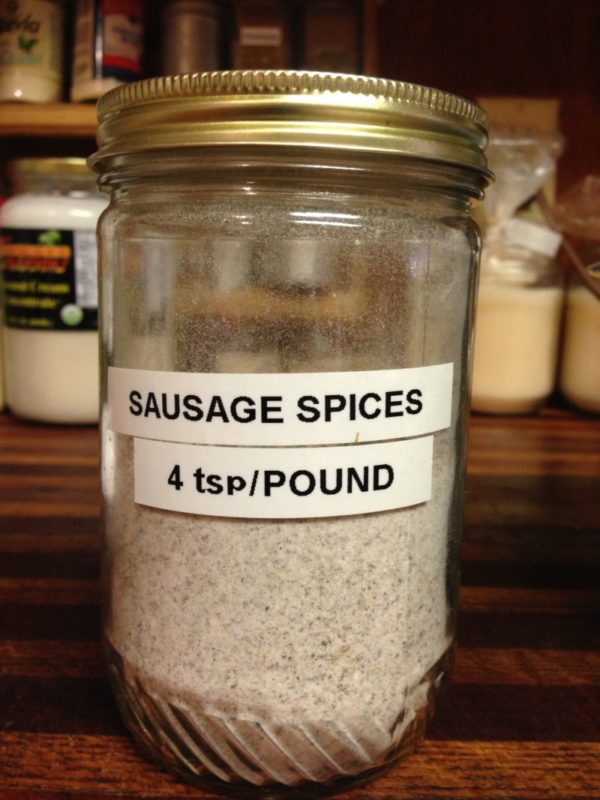 Sausage spices