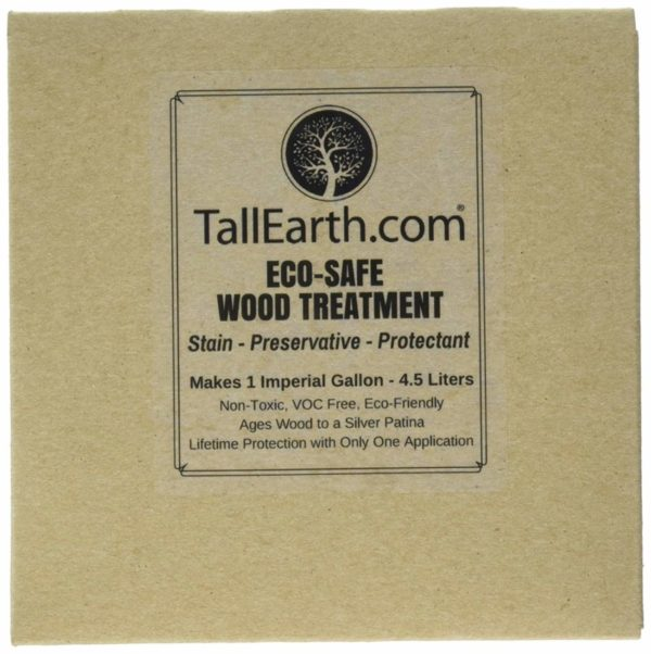Tall Earth Eco-Safe Wood Treatment Wood Deck Stain