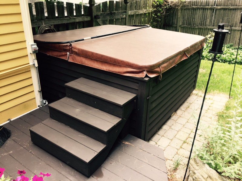 Voorkeur 18 Ingenious DIY Hot Tub Plans & Ideas Suitable for Any Budget @PC07