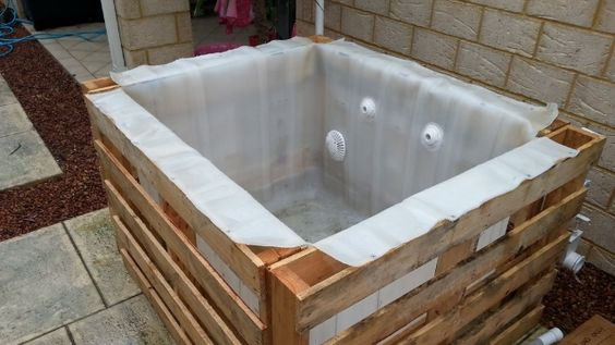 Diy Jacuzzi Bathtub.18 Ingenious Diy Hot Tub Plans Ideas Suitable For Any Budget