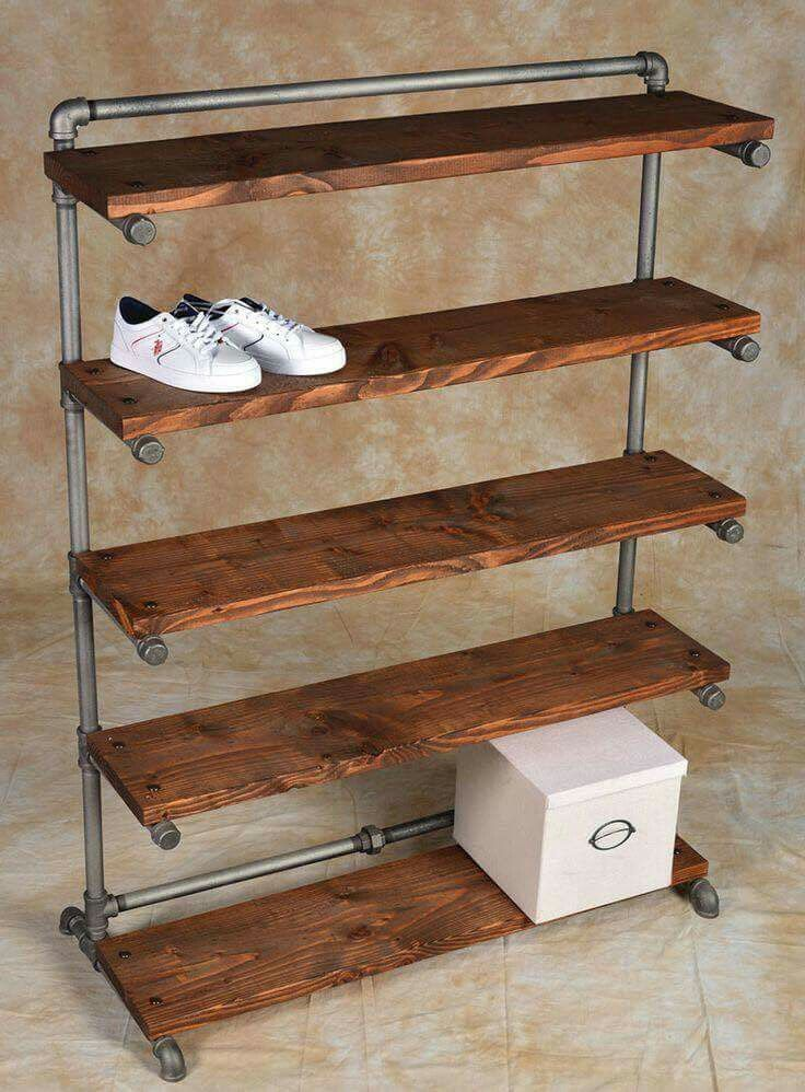 How To Make A Wooden Shoe Rack.22 Chaos Eliminating Diy Shoe Rack Ideas