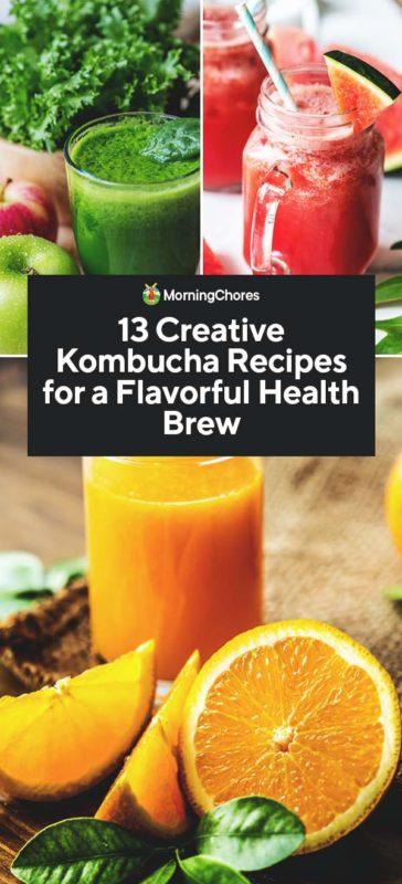 13 Creative Kombucha Recipes for a Flavorful Health Brew