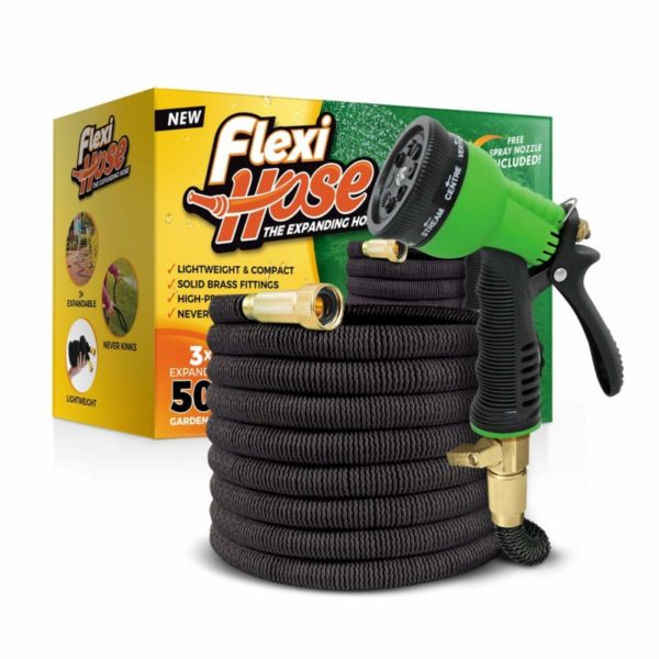 Flexihose Upgraded Expandable 50-foot Garden Hose