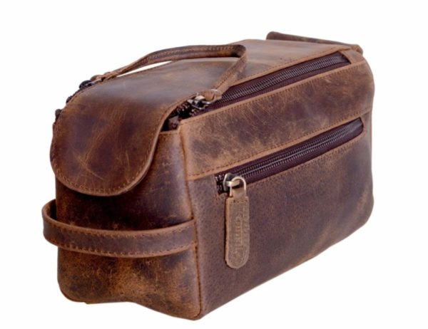 KomalC Unisex Toiletry Bag Travel Dopp Kit