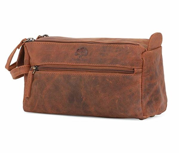 Rustic Town Leather Dopp Kit
