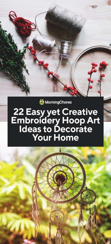1 Floral Embroidery Hoop Art Tutorial
