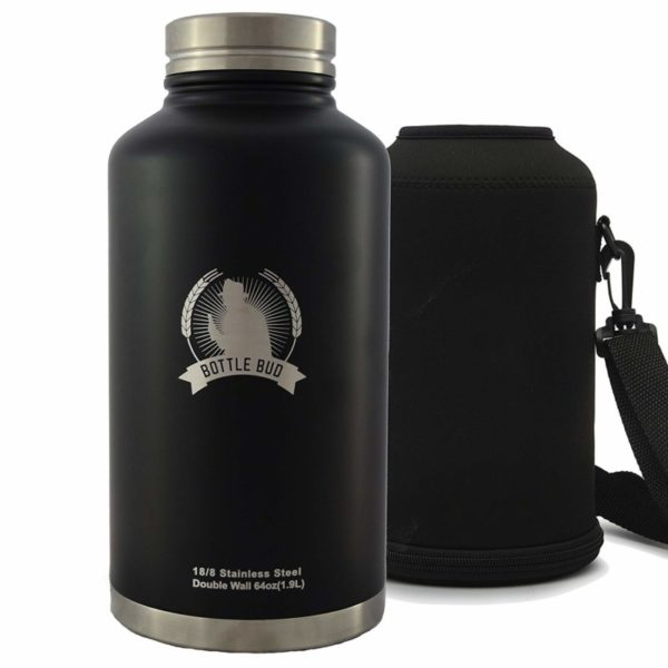 Bottle Bud 64-ounce Growler