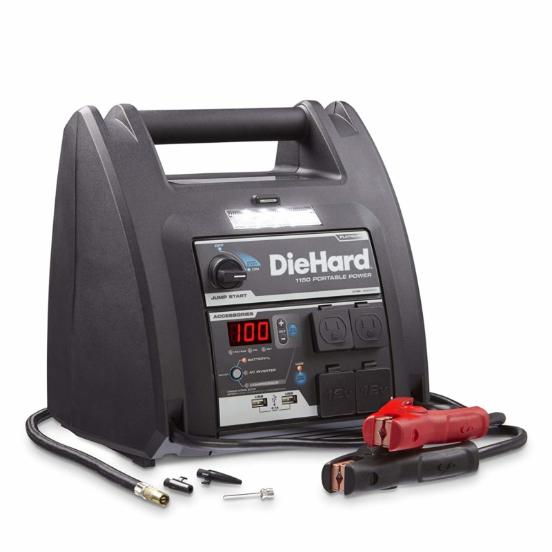 DieHard 2871688 Platinum Portable Power Jump Starter