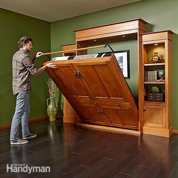 Diy Murphy Bed Plans How To Build How To Make