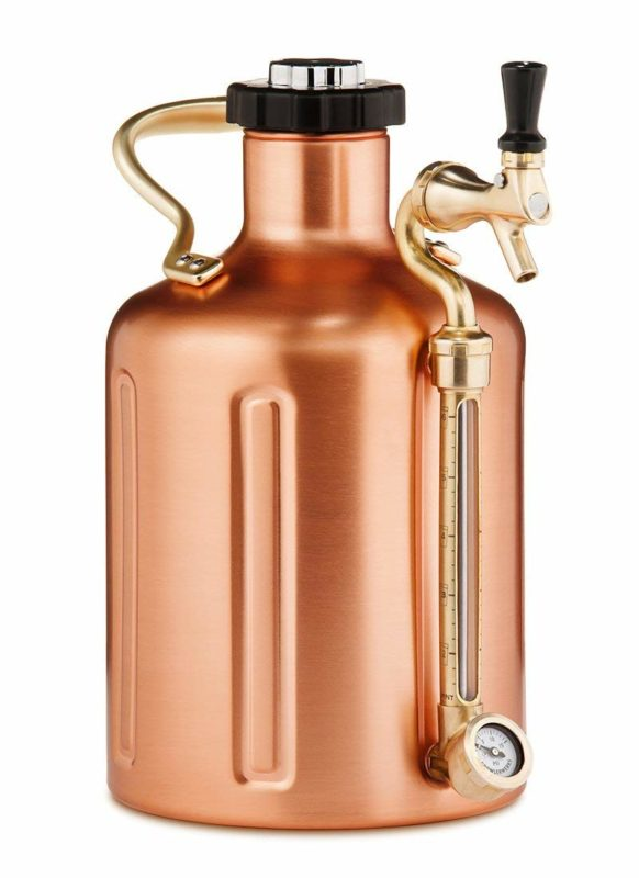 GrowlerWorks uKeg 128 Pressurized Growler for Craft Beer