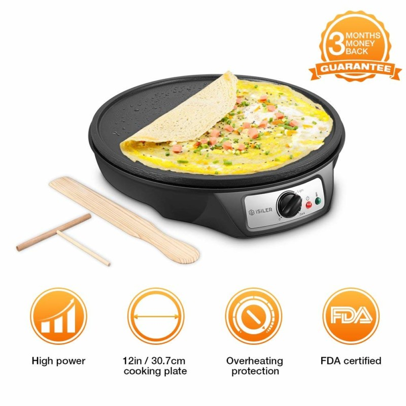 Isiler Electric 12-inch Crepe Maker