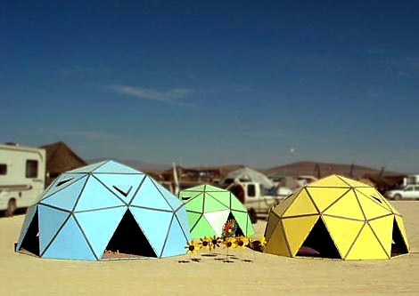 cardboard geodesic domes
