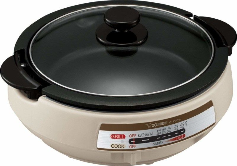 Zojirushi EP-PBC10 10-inch Gourmet d'Expert Electric Skillet