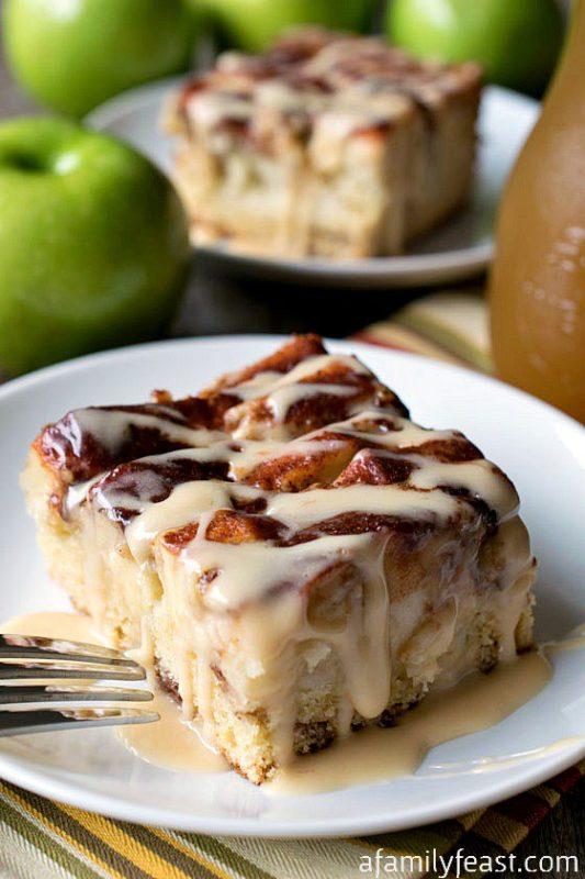 Apple cider recipe for cake