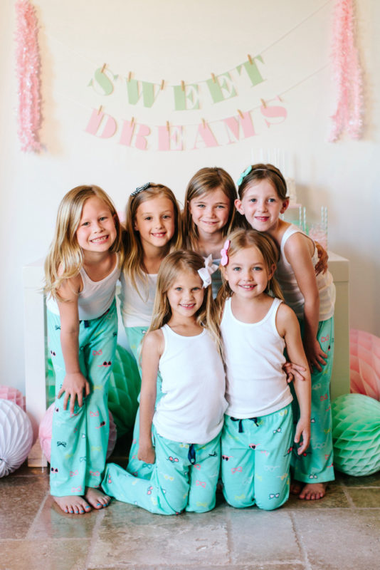 All best friends need matching pajamas! Supply your child and their friends  with matching pajamas that you can either include with the invitation or  have ...