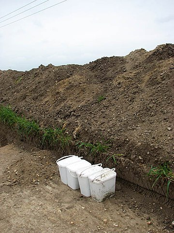 Soil samples for soil testing