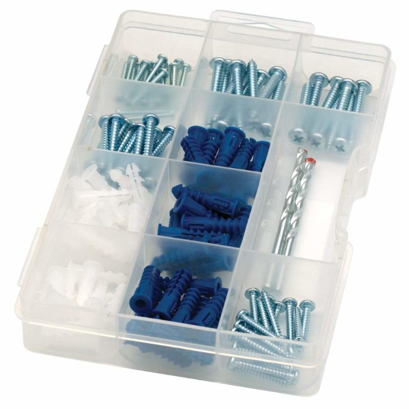 ARROW 160455 Drywall Drill Bit Screw and Anchor 142-piece Kit