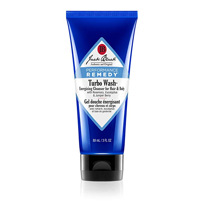 Jack Black 3-ounce Turbo Wash Men's Body Wash for Hair and Body