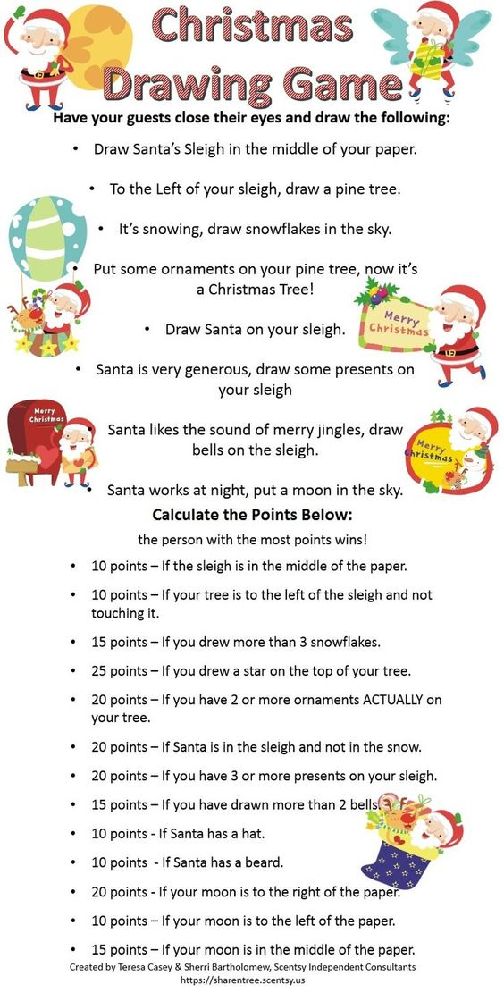 26 Fun Christmas Party Games Everyone