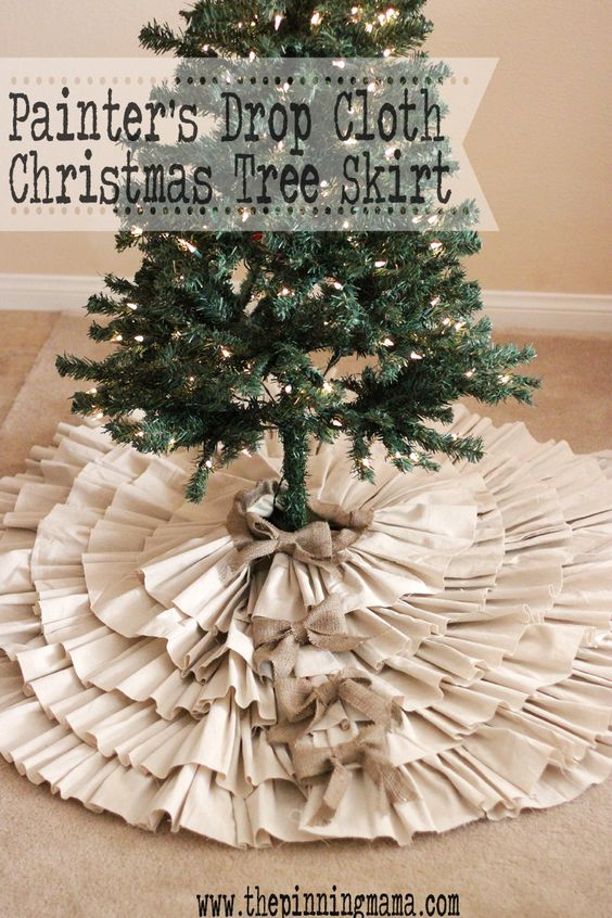 diy tree skirts