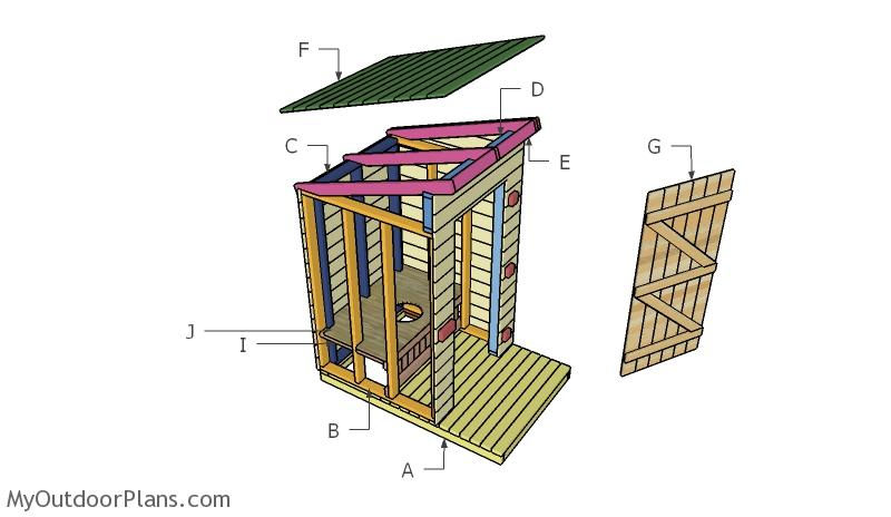 19 practical outhouse plans for your off-grid homestead  morningchores