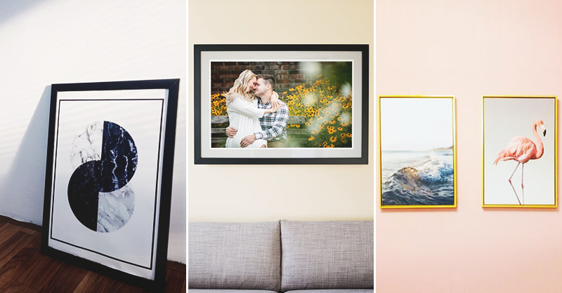 45 Diy Picture Frames To Display Your Happy Moments
