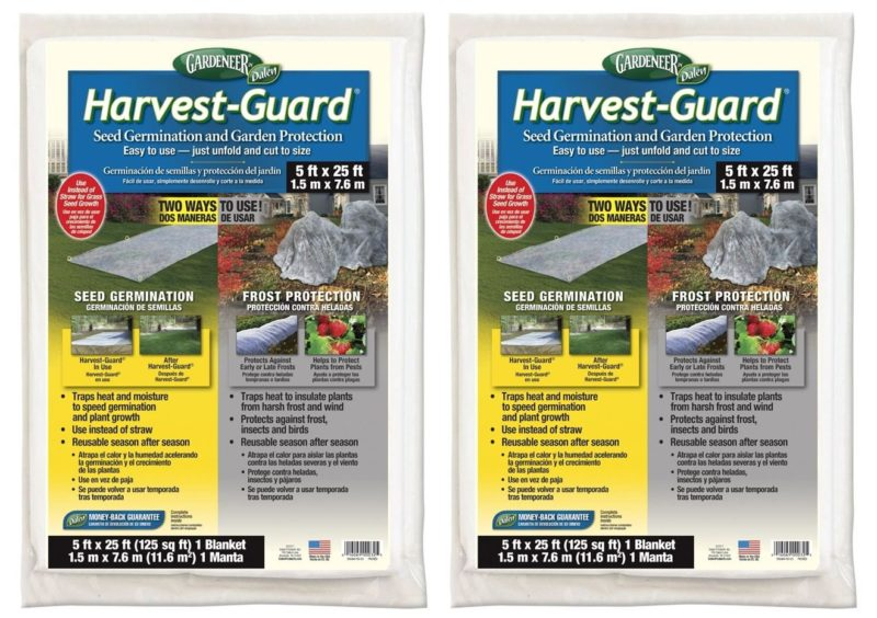 Dalen Gardeneer HG-25 5X25-foot Harvest-Guard Floating Row Cover