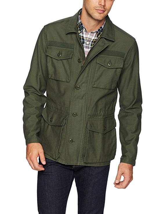 Goodthreads Men's Military Field Jacket
