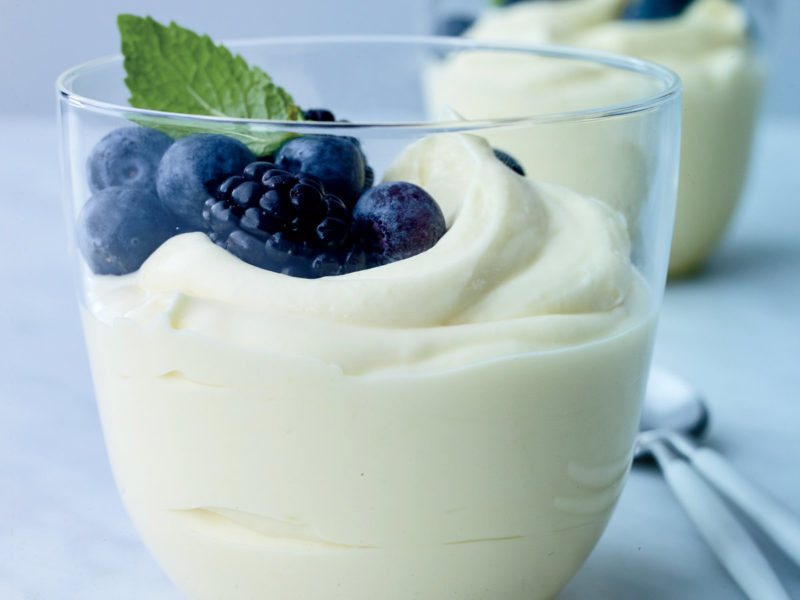 Lemon Buttermilk Pudding