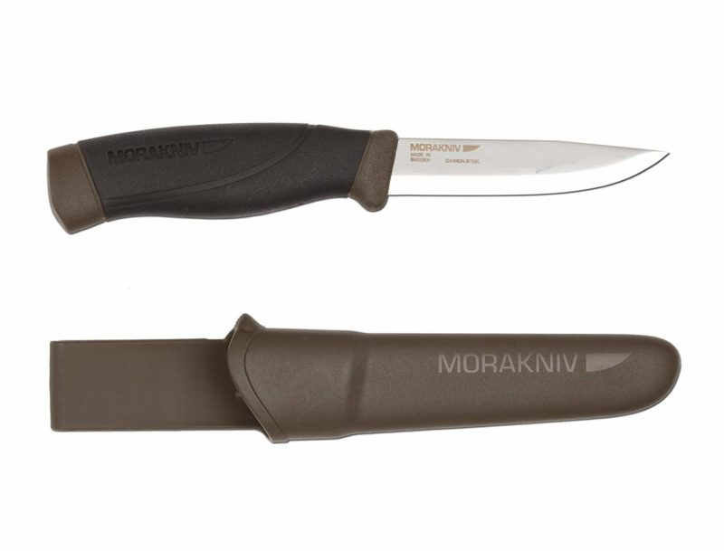 Morakniv Companion 8.8-inch Fixed Blade Camping Knife