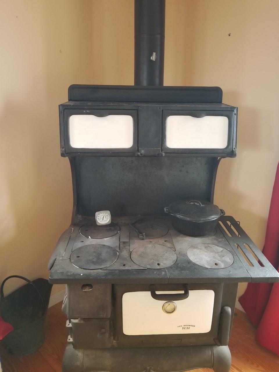 wood burning stove installation