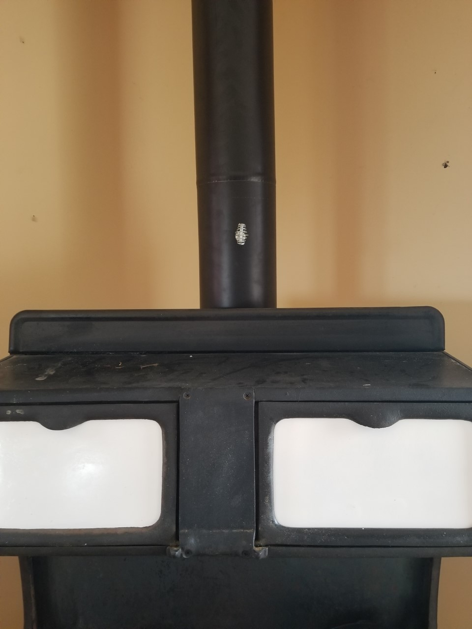 installing a wood burning stove