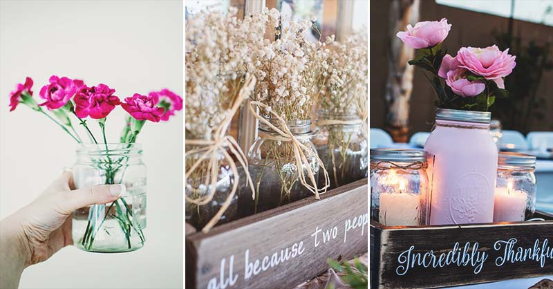 112 Mason Jar Crafts That Will Spark A Creative Flair In You