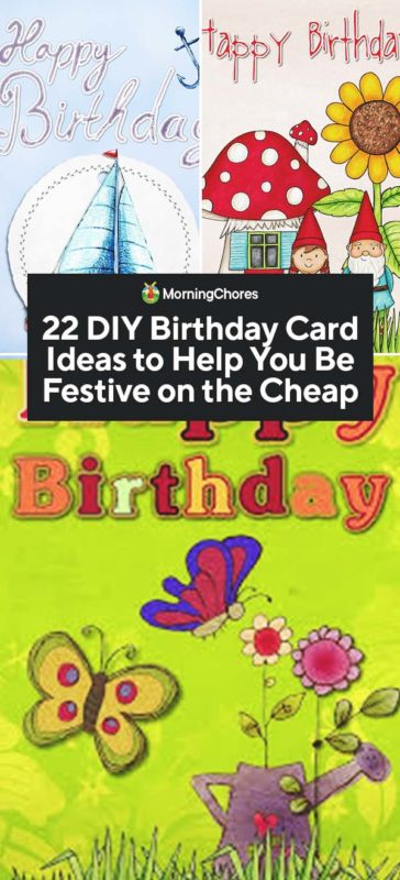 Fabulous 22 Diy Birthday Card Ideas To Help You Be Festive On The Cheap Personalised Birthday Cards Rectzonderlifede