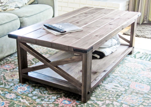 Easy Coffee Table.60 Diy Coffee Table Plans And Ideas With Form And Function