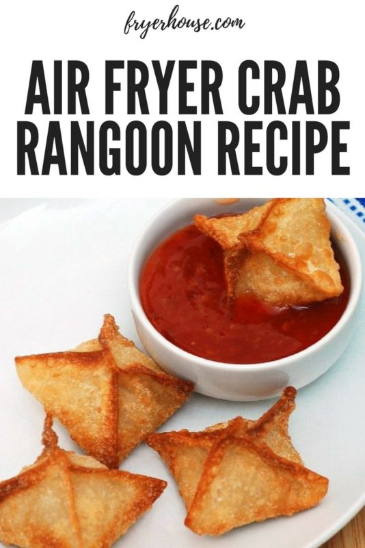 Air Fryer Crab Rangoon Recipe